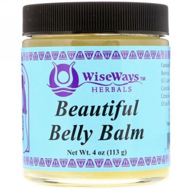 WiseWays Herbals, ビューティフルベリーバーム、4オンス (113 g) (Discontinued Item)