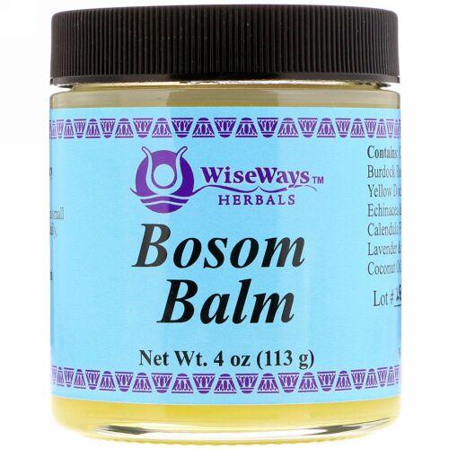 WiseWays Herbals, ブザム バーム、4 oz (113 g)