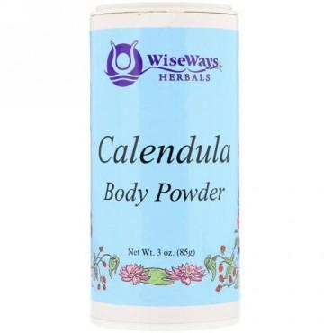 WiseWays Herbals, Calendula Body Powder, 3 oz (85 g)