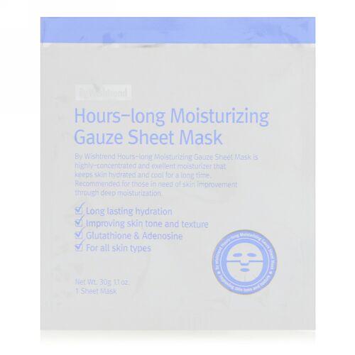 Wishtrend, 長時間保湿ガーゼシートマスク、1枚、1.1 oz (30 g) (Discontinued Item)