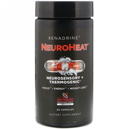 Xenadrine, NeuroHeat, Neurosensory+Thermogeinc, 60 Capsules (Discontinued Item)