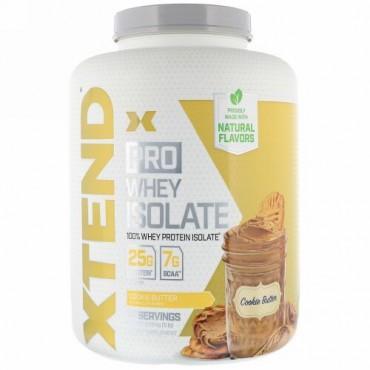 Xtend, Pro(プロ)、ホエイタンパク質分離物、クッキーバター、2.28kg(5ポンド)