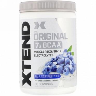 Xtend, オリジナル7G BCAA、ブルーラズベリーアイス、420g(14.8オンス)