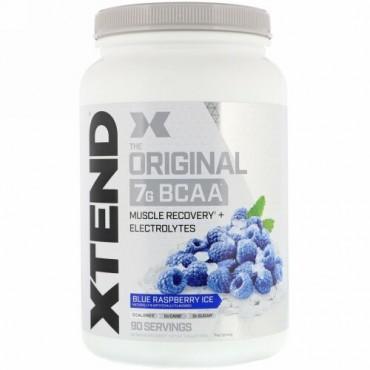 Xtend, オリジナル7G BCAA、ブルーラズベリーアイス、1.26kg(2.78ポンド)