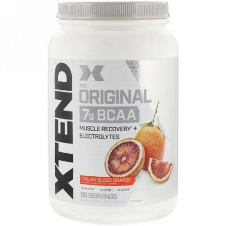 Xtend, オリジナル7G BCAA、イタリアンブラッドオレンジ、1.31kg(2.88ポンド)