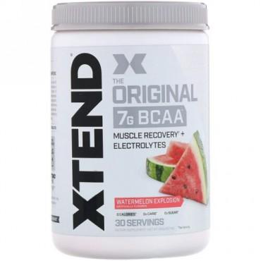 Xtend, オリジナル7G BCAA、ウォーターメロンエクスプロージョン、390g(13.7オンス)