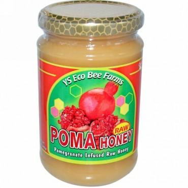 Y.S. Eco Bee Farms, ポマ・'ローハニー(Poma, Raw Honey)、13 oz (369 g) (Discontinued Item)