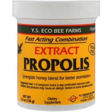 Y.S. Eco Bee Farms, プロポリスエキス、5.5 oz (156 g)