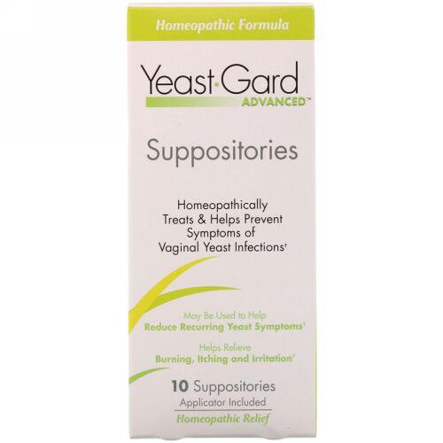 YeastGard Advanced, カンジダ症ガードアドバンスド坐薬、坐薬10錠