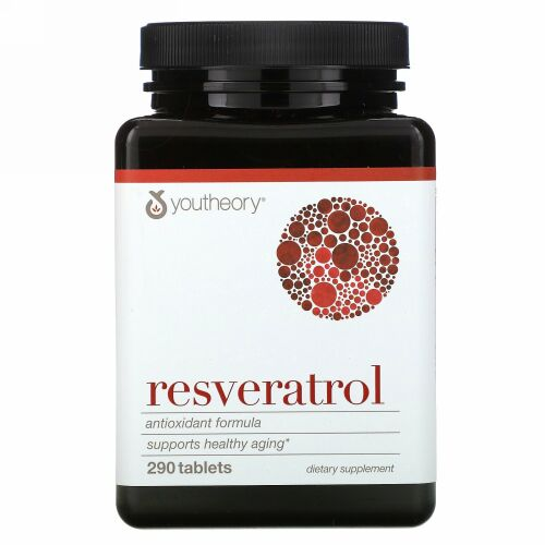 Youtheory, Resveratrol Anti-Aging, 290 Count