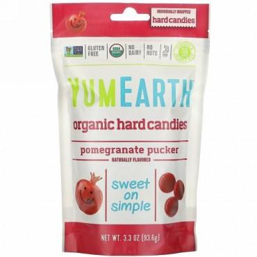 YumEarth, オーガニックキャンディー、ザクロパッカー、3.3 oz (93.6 g)