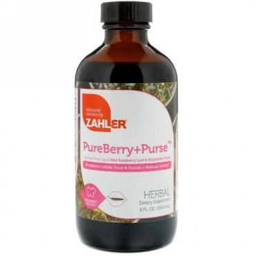 Zahler, PureBerry+Purse、8 fl oz (236.6 ml) (Discontinued Item)