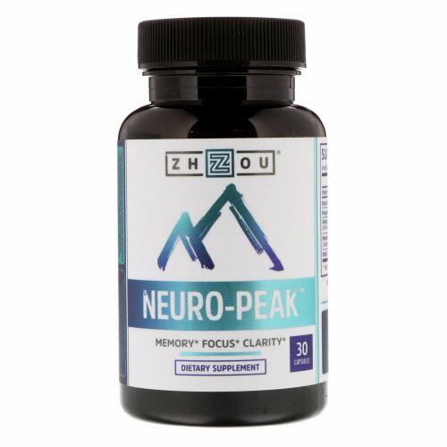Zhou Nutrition, ニューロピーク(Neuro-Peak)、カプセル30錠