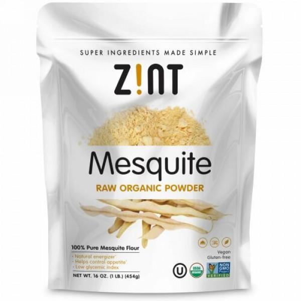 Zint, メスキートオーガニックパウダー、16オンス (454 g)