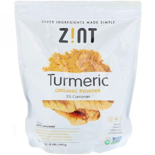 Zint, Organic, Turmeric Powder, 32 oz (907 g) (Discontinued Item)