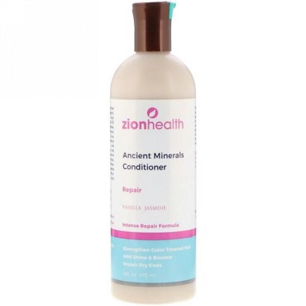 Zion Health, 古代のミネラルコンディショナー、リペア、バニラジャスミン、16液量オンス (473 ml) (Discontinued Item)
