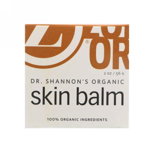 Zoe Organics, Dr. Shannon's Organic, Skin Balm, 2 oz (56 g) (Discontinued Item)